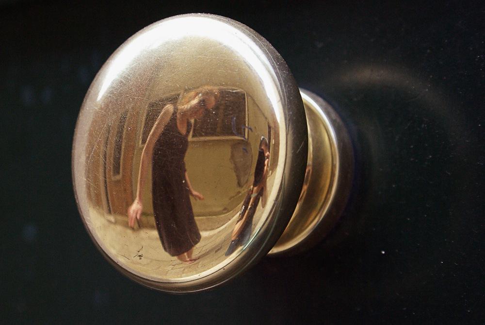 photoblog image Abstract mirror